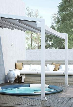 Luxaflex® Outdoor Awnings